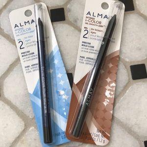 Almay intense gel smooth liner black and navy